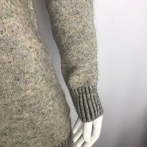 Zara Dresses - Zara Knit Grey Speckle Mini Sweater Dress
